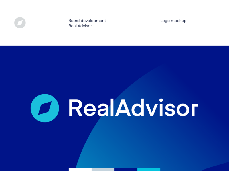 Ra - Logo real estate logo mockup mockup stationary print branding design brand assets branding brand design brand logo design logo