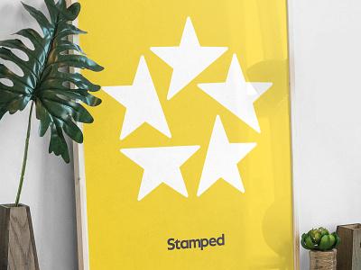Stamped - Brand Exploration 02 app web website design wordmark icon mark logo mark logotype brand guide visual identity branding ratings logo brand