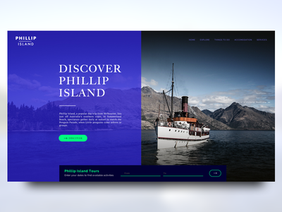 Travel Agency Landing Page #02 sketch services explore island landing agency booking travel