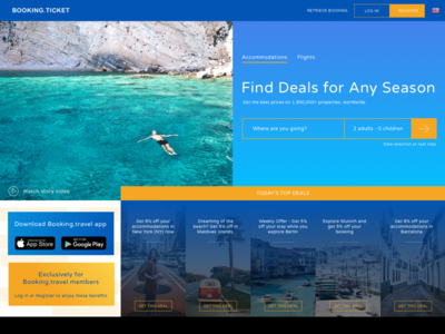 Travel.ticket landing page winter summer startup deal homepage landing page explore booking tour tourist ticket travel