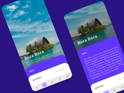 Places to Travel App Concept card design island explore london uiux travel