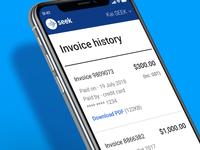 Invoice Dribbble