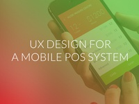 UX & UI for a POS system