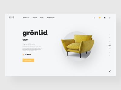 Furniture shop concept