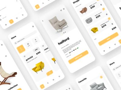 Fruniture app concept