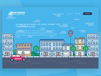 MTI cabs landing page