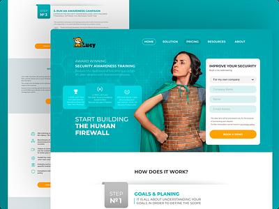 Web Page Design typography concept site ui web design