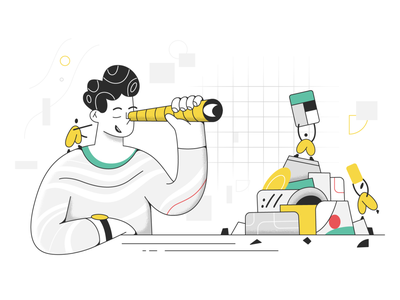 Domain search! search webdesign product ui character design design illustration