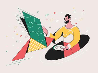 Taking care of your brand! webdesign product ui character design design illustration