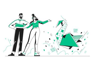 Problem solved! designer client webdesign product ui character design design illustration