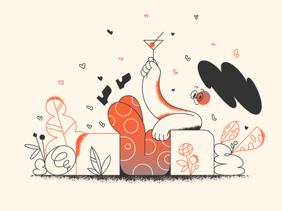 Have a nice weekend! celebration welcome webdesign product ui character design design illustration