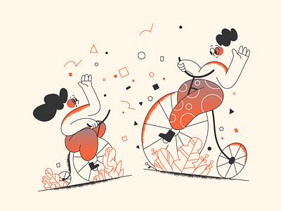 Upgrade by premium! webdesign product ui character design design illustration