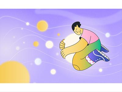 Cozy enviroment! app illustration webdesign product vector ui character design design illustration