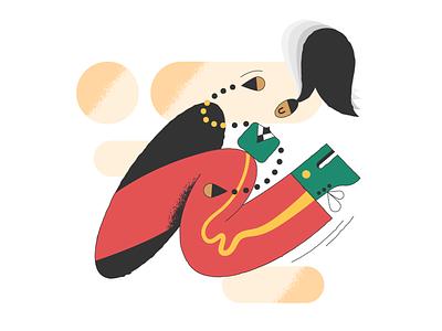 Log in! log out log in webdesign product vector ui character design design illustration