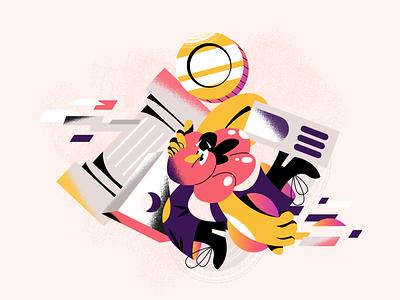 Slow down mate! webdesign product vector ui character design design illustration