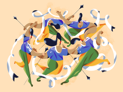 Dance! webdesign product vector ui character design design illustration