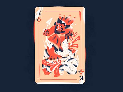 Сross king! webdesign product vector ui character design design illustration