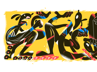 Monday mood! webdesign product vector ui character design design illustration