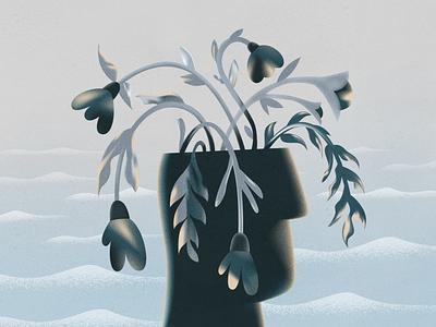 Dead Flowers! webdesign product vector ui character design design illustration