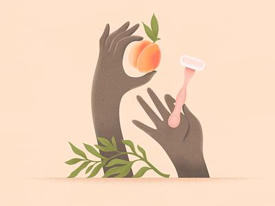 Peach! webdesign product vector ui character design design illustration