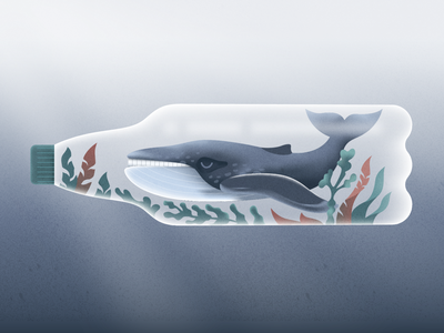 Ocean pollution! webdesign product vector ui character design design illustration