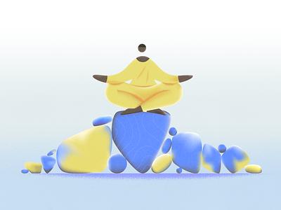 Mindfulness webdesign product vector ui character design design illustration