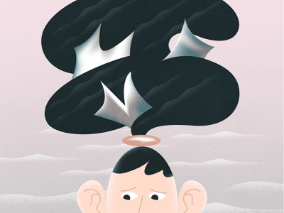 Mental illness! webdesign product vector ui character design design illustration