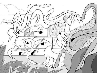 Dragons! webdesign product vector ui character design design illustration