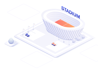 Isometric Stadium building design cars car stadium designer motion art animation motion explainervideo design vector illustration isometric illustration isometric design isometric isometric icons isometria
