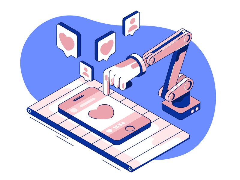 One more like! folowers like ui  ux design automatic isometric isometric illustration 2d design ux branding illustration design ui web illustration app illustration ui design ui illustration flat character design design illustration vector