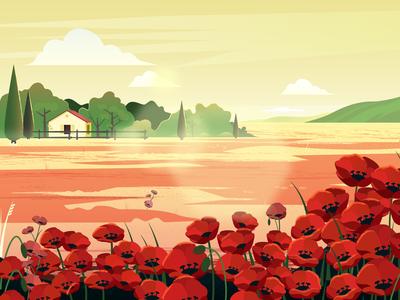 Landscape illustration #17.23