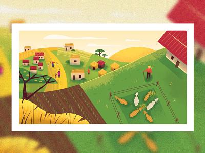 Landscape 9.96 product webdesign ui character design design illustration