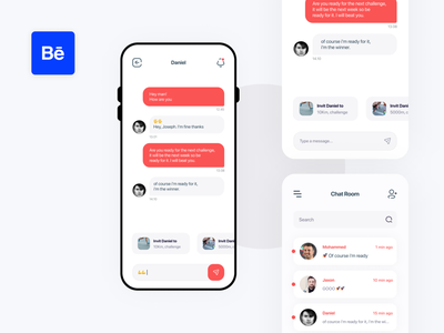 GoSoniqs. - Sport Mobile application chat app messaging app invites messaging chart chat chatting behance project running app motivation app ios app design challenges fitness app sport app creative interface user interface design user experience