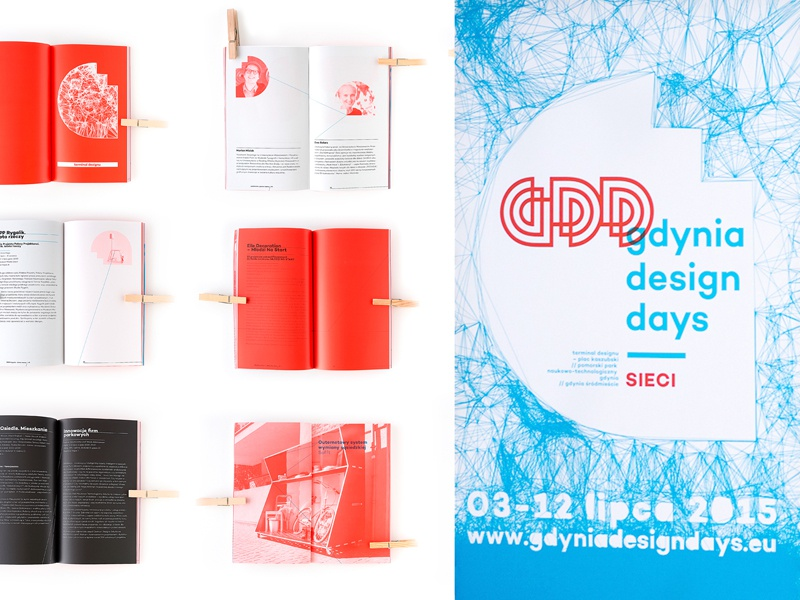'gdynia design days' festival branding print poster corporate identity identity layout lettering logo typography website