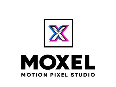 Moxel Studio Logo Design Works sketch istanbul creative vfx vector lettering pattern x letter x pixel motion designstudio animationstudio agency office iconset icon logodesign logotype