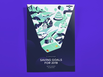 Savings Infographic for Starling Bank