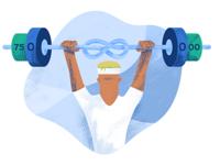 GoCardless Gym Membership Illustration