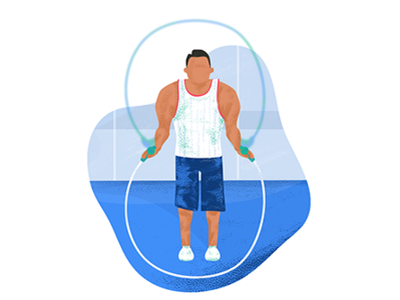 GoCardless Gym Membership Illustration