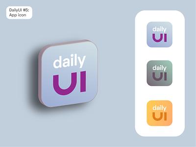DailyUI #5: App icon daily ui 006 daily ui dailyuichallenge dailyui app icon logo app logo app icon design icon design icon app icon app