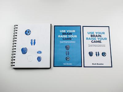 Watercolour Book Design Elements - ReThink Press football publishing watercolour art paint design cover book