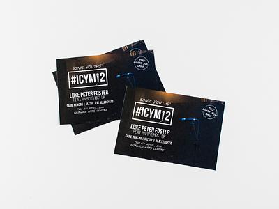 Gig Event Flyer Design - Sonic Youths uk norfolk norwich logo design leaflet flyer event music gig
