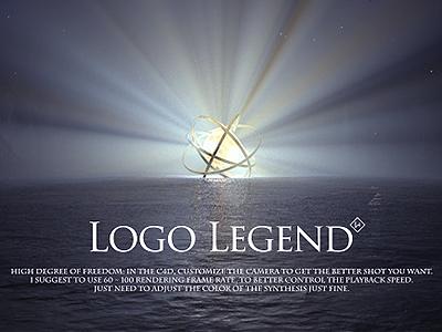 Logo Legend - Cinema 4D Templates