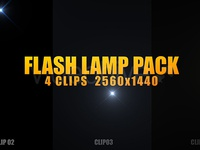 Flash Lamp Pack - Video footage