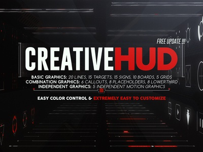 Creative HUD - After Effects Project File