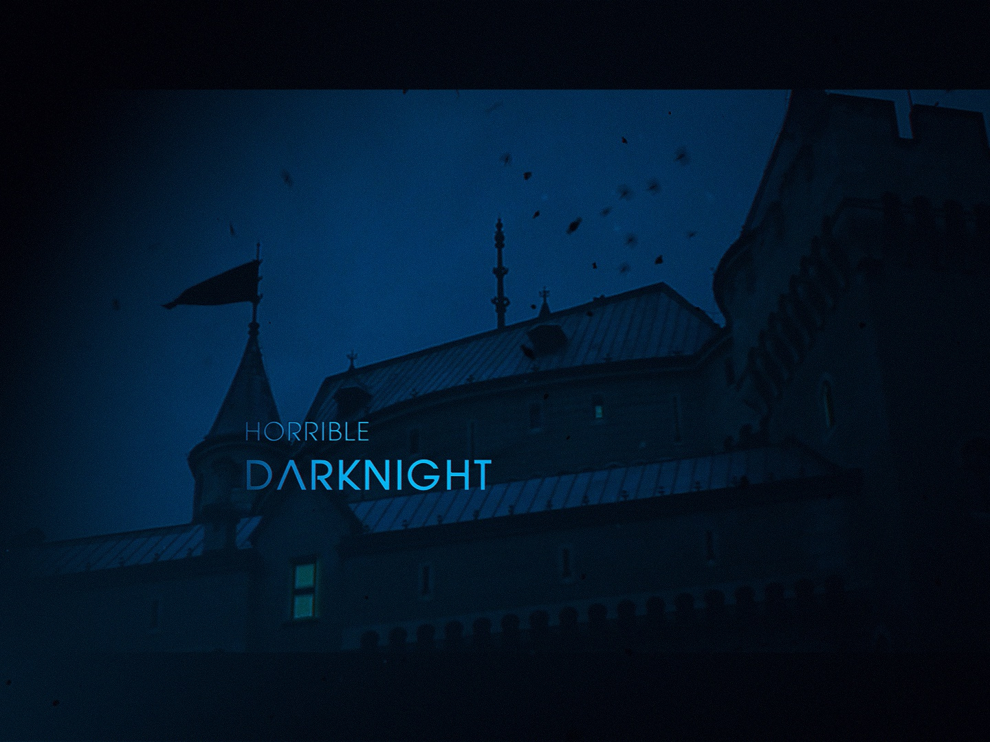 Horrible Darknight - After Effects Project File zombie vampire spy searchlight opener main title latency intro horror gloomy epic detective crisis american drama amc