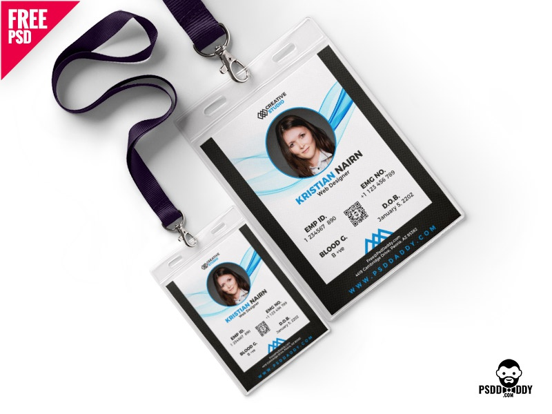 Asif Identity Psd Dribbble By Office Mohammed Photo Template Card