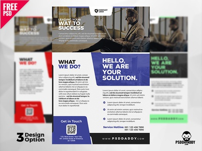 Business Flyer Design Templates Psd By Mohammed Asif Dribbble