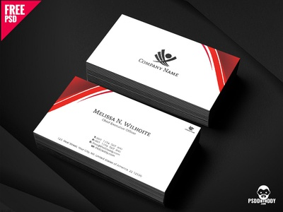 Corporate business cards design free psd by mohammed asif dribbble corporate business cards design free psd colourmoves