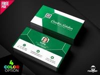 Classic Business Card Free PSD Bundle