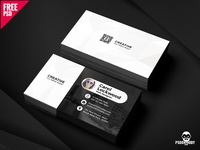 Simple Business Card Free PSD